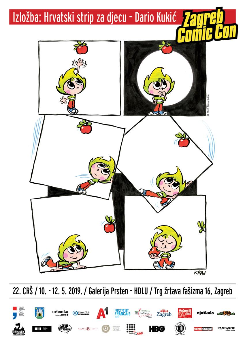 Izložba Hrvatski strip za djecu – Dario Kukić