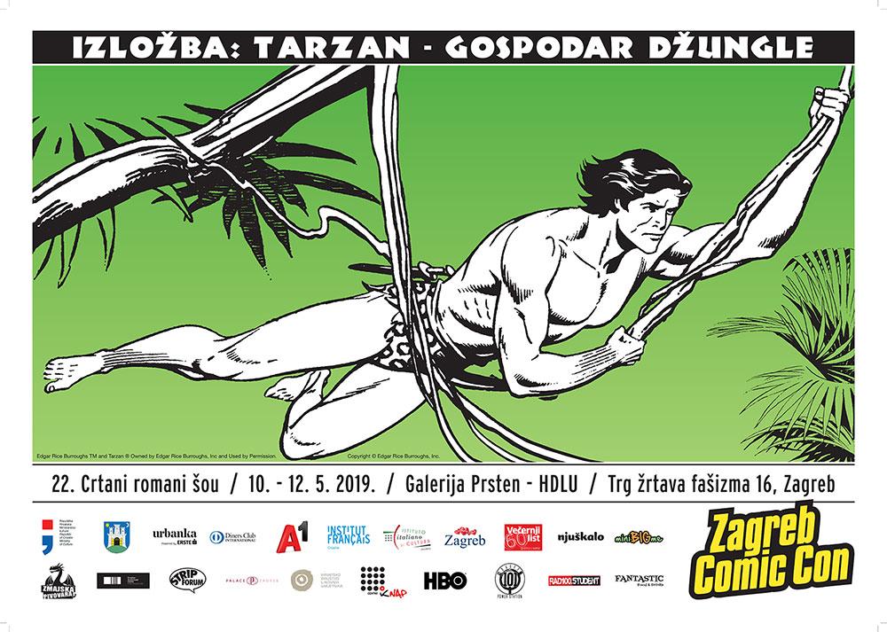 Izložba Tarzan – gospodar džungle