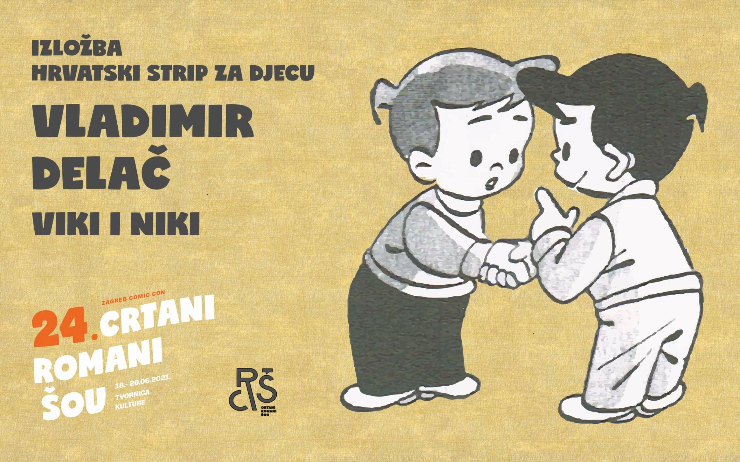 Hrvatski strip za djecu: Vladimir Delač - Viki i Niki